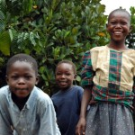 Children on the Road in Jinja